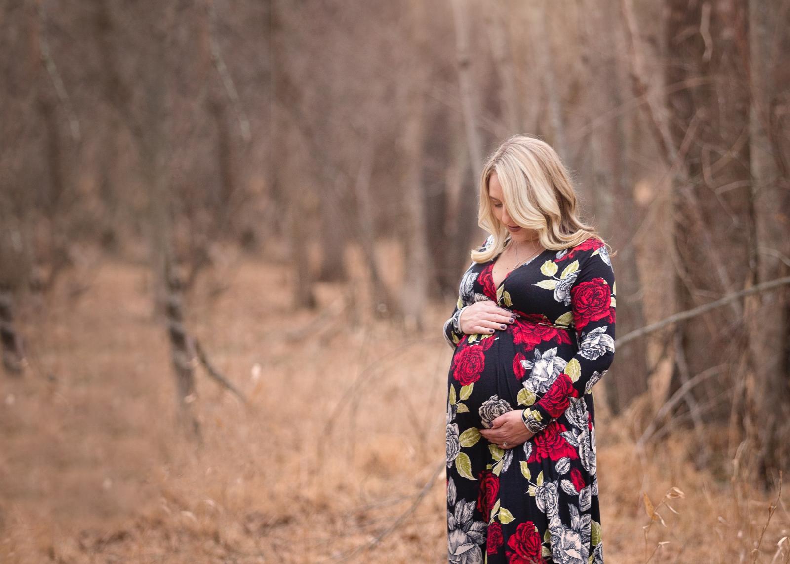 Ashburn Maternity Portraits