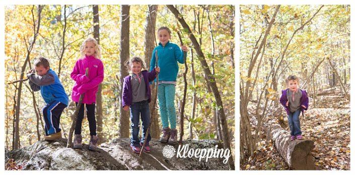 Fall Hiking | Ashburn Family Photographer