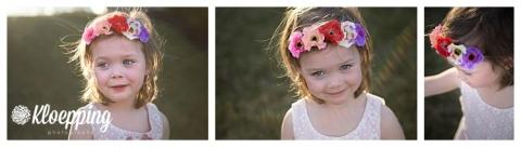 Flower crowned baby
