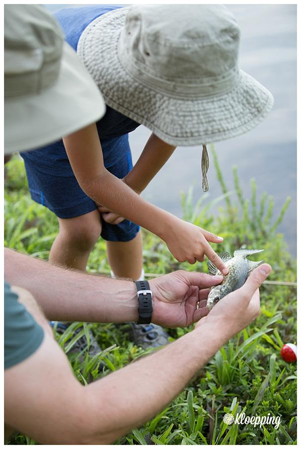 Family Fishing | Aldie Child Photographer