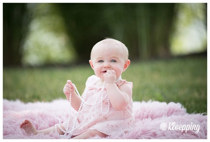Sweet Ava is 6 Months | Chantilly Child Photographer