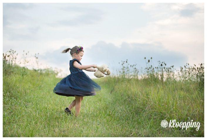 Lia turns 4 | Aldie Family Photographer