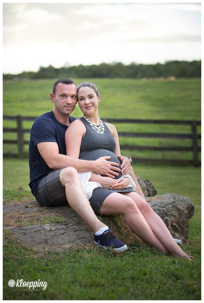 Soon to be family of 3 | Ashburn Maternity Photographer