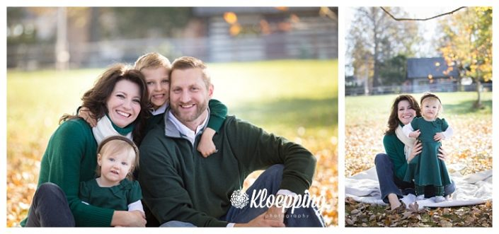 Fall Fashion and an Update | Ashburn Fall Family Portraits