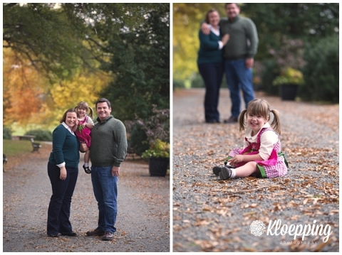 Cute fall family photo session at Morven Park